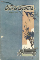 1916 Ford Times April 1916