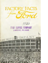 1917 Ford Factory Facts (Jul)