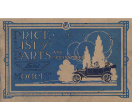 1917 Ford Parts List (Feb)