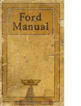 1918 Ford Manual