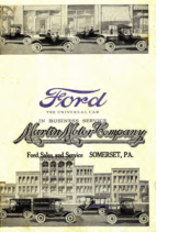 1918 Ford The Universal Car For Business (Feb)