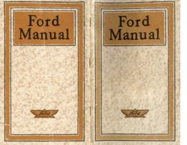 1919 Ford Manual (Mar)