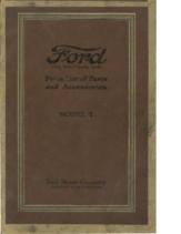 1919 Ford Model T Parts List (Nov)