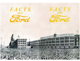 1920 Ford Factory Facts