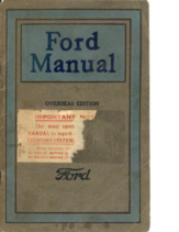 1920 Ford Owners Manual CN