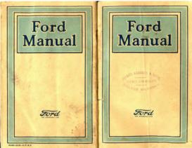 1921 Ford Manual British