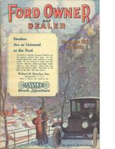 1921 Ford Owner & Dealer (Dec)