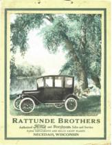 1922 Ford Calendar