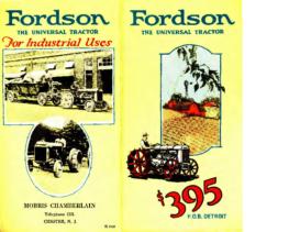 1922 Fordson Flyer 2