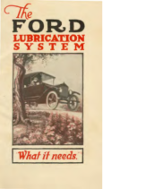 1923 Ford Lubrication Systems