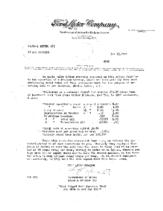 1924 Ford Dealer Letters