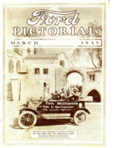 1925 Ford Pictorial (Mar)