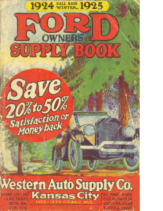 1925 Western Auto Supply For Ford
