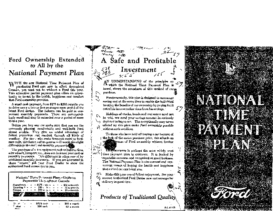 1926 Ford Payment Plan CN