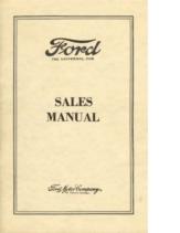 1926 Ford Sales Manual