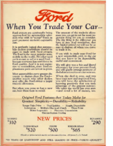 1926 Ford Trade In