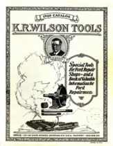 1926 KR Wilson Tools For Ford