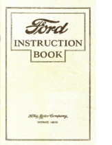 1927 Ford Instruction Book