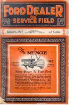 1927 Ford Owner & Dealer (Jan)