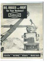 1950 Autocar Conventionals