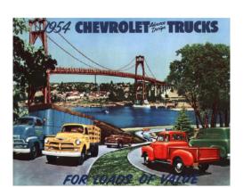 1954 Chevrolet Commercial Trucks