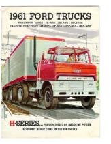 1961 Ford H Series Trucks