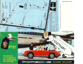1969 Porsche Tourist Delivery