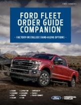 2020 Ford Fleet Order Guide Companion