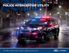 2020 Ford Police Inteceptor Utility