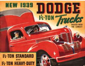 1939 Dodge 1½ ton Trucks
