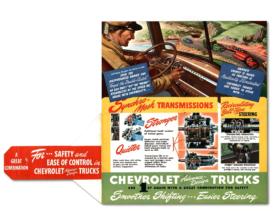 1947 Chevrolet Advance Design Trucks Mailer