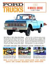 1963 Ford 4WD Trucks