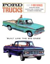1963 Ford F100 Trucks