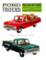 1963 Ford Light Duty Trucks (Cdn)