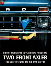 1965 Ford Truck Front Axles Mailer