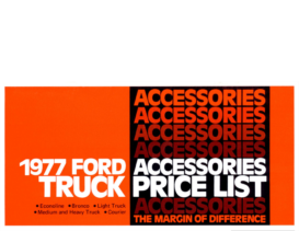 1977 Ford Truck Accessories Prices