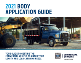 2021 Ford Body Application Guide