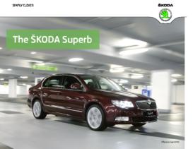 2012 Skoda Superb Hatchback-Estate