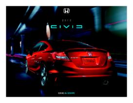 2013 Honda Civic SI Coupe Fact Sheet
