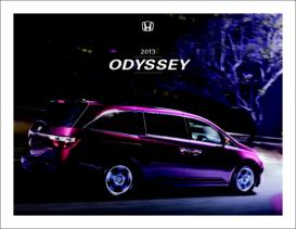 2013 Honda Odyssey Fact Sheet