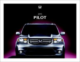 2013 Honda Pilot Fact Sheet
