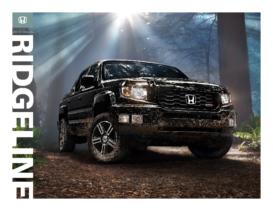 2013 Honda Ridgeline Fact Sheet