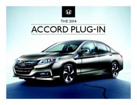 2014 Honda Accord Plug-In Spec Sheet