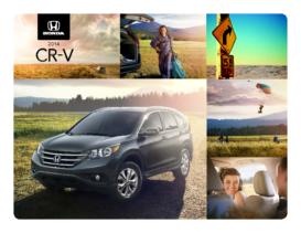 2014 Honda CR-V Spec Sheet