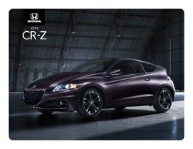 2014 Honda CR-Z Spec Sheet