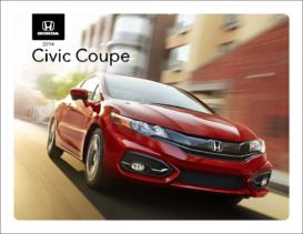2014 Honda Civic Coupe Spec Sheet
