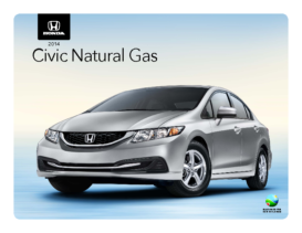 2014 Honda Civic Natural Gas Spec Sheet