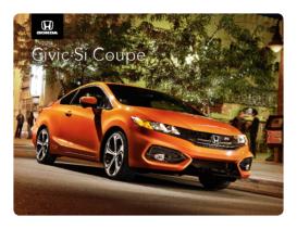 2014 Honda Civic SI Coupe Spec Sheet