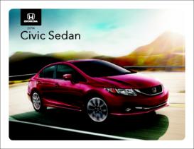 2014 Honda Civic Sedan Spec Sheet