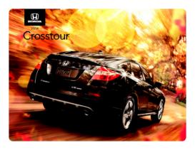 2014 Honda Crosstour Spec Sheet